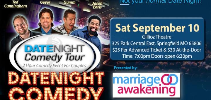 Marriage Awakening - Date Night Comedy - Springfield - Gillioz Theatre